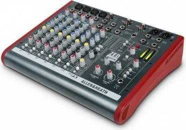 A&H ZED10FX Mixer 4 mono/2 stereo m/USB og DSP
