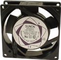 SUNON - Sunon blæser - 92x92x25mm 230V m. glideleje og ledn. (HQ)