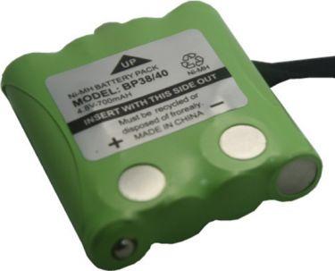 Batterimodul til Uniden BP-38 m.fl. - 4,8V / 700mAh (NiMH)