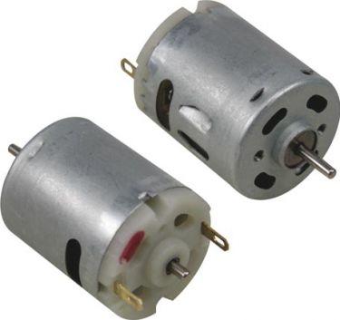 Mini DC motor - 6-14Vdc / 180mA 8768rpm (ved 12Vdc)