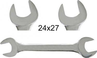PEREL - ÅBEN skruenøgle 24x27mm
