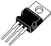 UA7908 Negativ spændingsregulator - 8V / 1A (TO220)