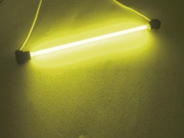 HQ Power - Kold-katode lysrør - GUL, u.strømforsyning (Ø4mm x 10cm)