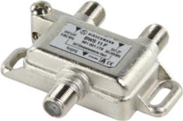 Hirshmann - Antennesignal båndkobler/splitter (UHF/VHF+SAT)