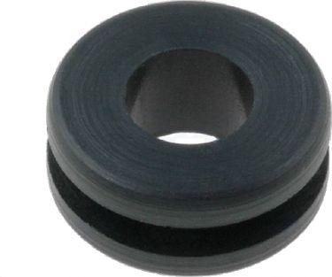 Gummi gennemføringstylle - Ø5mm indv. hul