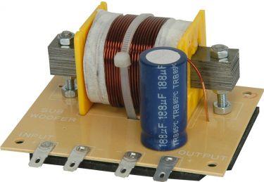 Subwoofer filter, 12dB, 120Hz, 4 Ohms, 400W