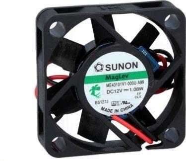 SUNON - Sunon blæser - 40x40x10mm 12Vdc / 1,08W VAPO, 2 ledn.