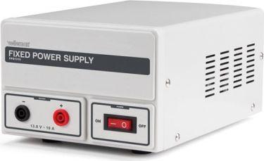 Fast strømforsyning - 13,8Vdc / 10A