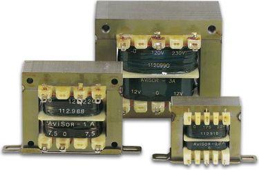 Chassis transformator - 1 x 6V / 0,3A / 1,8VA