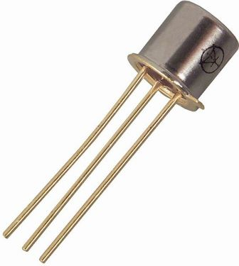 2N2907A PNP bipolar transistor - 60V / 0,6A / 0,4W (TO18)
