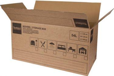 Toolland - Flytte/opbevaringskasse (60x30x30cm)