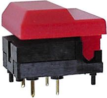 SP86-B1-1-0 DIGITAST rød uden LED