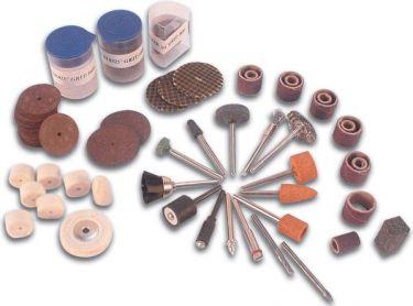 Velleman - Tilbehør til mini-boremaskiner - 125 dele