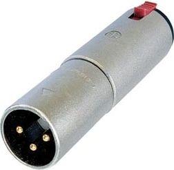 NEUTRIK - Neutrik - XLR 3-pol han til 6,35mm stereo JACK hun m. lås