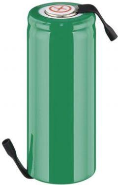 NiMH 4/5A batteri 1,2V / 1800mAh loddeflige (Ø17 x 42mm)