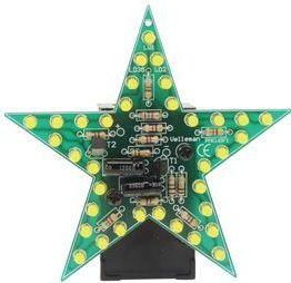 Velleman - MK169Y - Blinkende gul stjerne