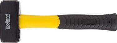 PEREL - Klaphammer - Glasfiberskæfte, gummigreb, 1000g