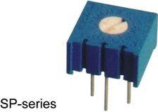 Vandret single turn trimmepotmeter - 1 Mohm, 500mW, ±10%