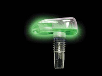 Sprinklersæt - Med 12VDC grøn LED-lys (2 stk.)