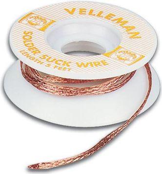 Velleman - Tinsugetråd - 2mm x 1,5m