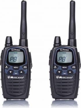 MIDLAND - MIDLAND - G7 PRO PMR446/LDP radio, duoblister (2 stk.)