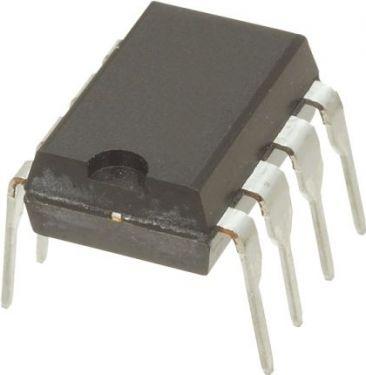 TL061 OP-AMP 1MHz, 7-36VDC, 1 kanal (DIP8)