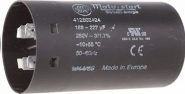 MOTOR start kondensator - 130 - 156uF / 250V (Ø45x84mm)