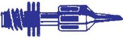 Portasol - BIT2,4 Spids for Portasol