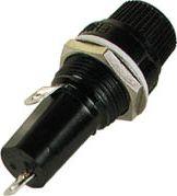 Sikringsholder - 6,35 x 32mm, til kabinet, LC (maks. 10A)
