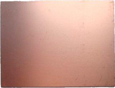 Glasfiberprint 1,5mm - Enkeltsidet kobberbelagt (10 x 15cm)