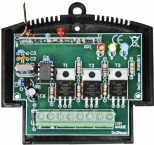Velleman - VM151 - RBG LED lysstyring m. RF fjernbetjening