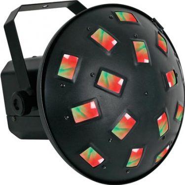 Par 64 LED lampe / 36x 1W RGB LED'er / DMX og Musikstyring