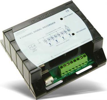 Velleman - 4 kanals USB recorder/datalogger