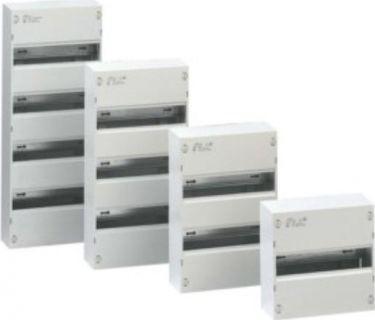Gruppetavle - 1 DIN-skinne, 13 moduler