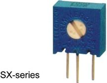 Single-turn trimmepotmeter - Vertikal, 10 Kohm, 500mW, ±10%
