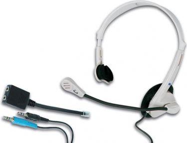 Multimedie hovedsæt - Til PC og telefoni