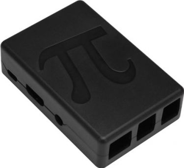 Raspberry Pi kabinet - Sort (Til type B+, 2B og 3B)