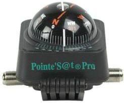 Satellitfinder m. kompas