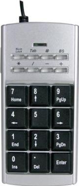 USB numerisk tastatur + Internet telefon