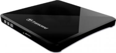 Transcend - Ekstern USB 2.0 DVD±R/RW/DL diskdrev/brænder (Sort)