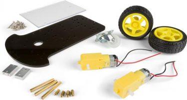 Velleman - Robot kit - 2 hjulstrukket moter chassis