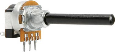 Potmeter - 100 ohm lin. m. kontakt (Ø6mm)