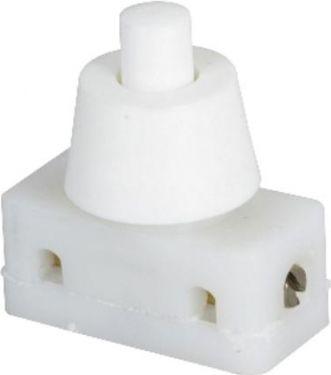 Kipafbryder (lampeafbryder) - Ø10mm, Hvid