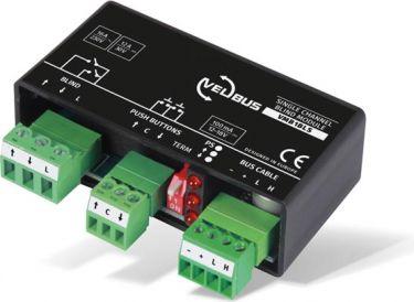 Velbus - 1 kanal blind modul - Universal montering