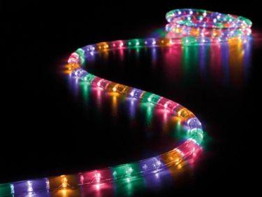 VelLight - LED lysslange - 2 kanals, flerfarve m. styring (8m)