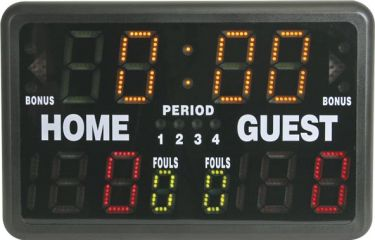 Scoreboard/sportstimer - Tidstagning, point, op/nedtælling