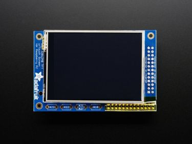 "PiTFT - 2,8"" TFT+touchskærm til Raspberry Pi"