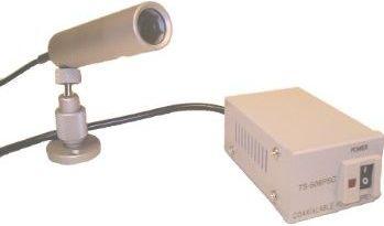 S/H projektilkamera m. strømforsyning - Vandtæt