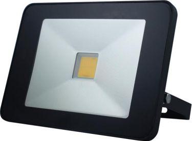 PEREL - LED facadespot m. PIR sensor - 30W, Neutral hvid (IP65)