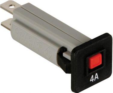 Automatsikring - 4A / 250VAC